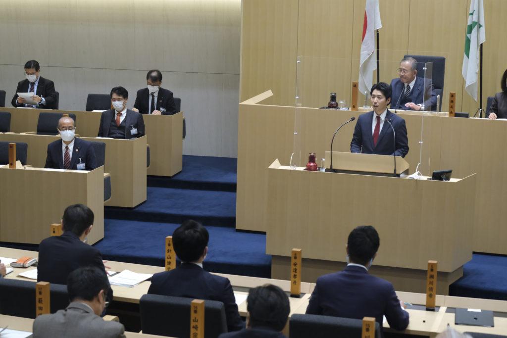 富山県議会 本会議一般質問について